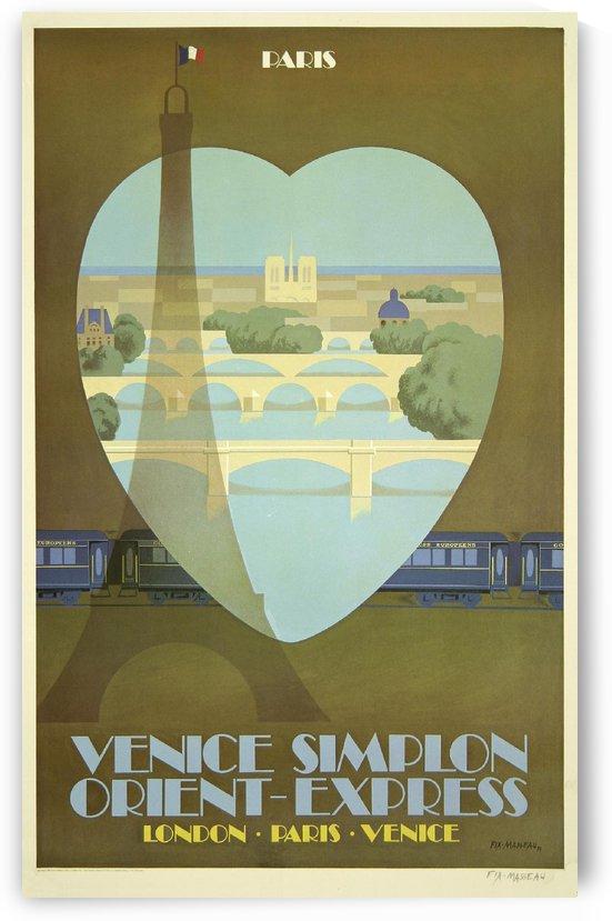 Paris Orient Express Poster by VINTAGE POSTER