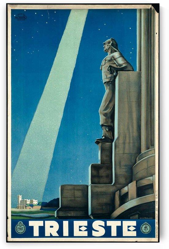 Trieste Vintage Travel Poster by VINTAGE POSTER