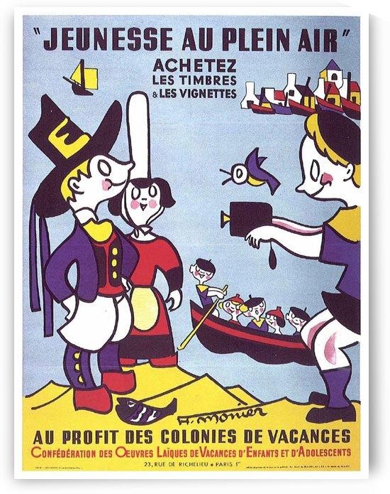 Jeunesse au Plein Air vintage poster by VINTAGE POSTER