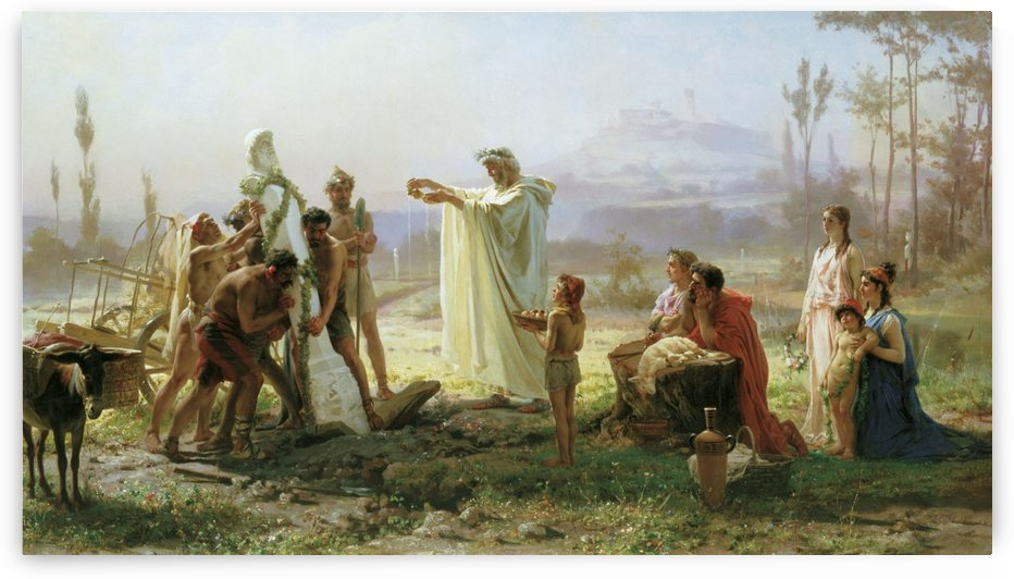 Consecration of the Herm by Fyodor Bronnikov