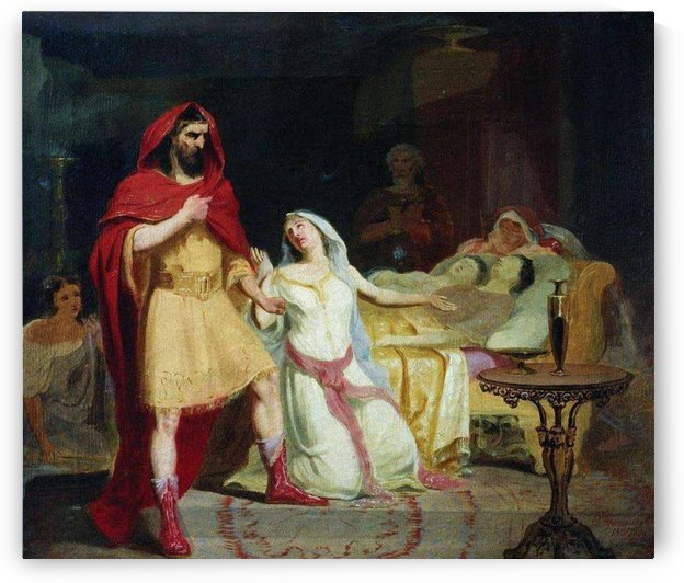 The Return of Ulysses to his home by Fyodor Bronnikov