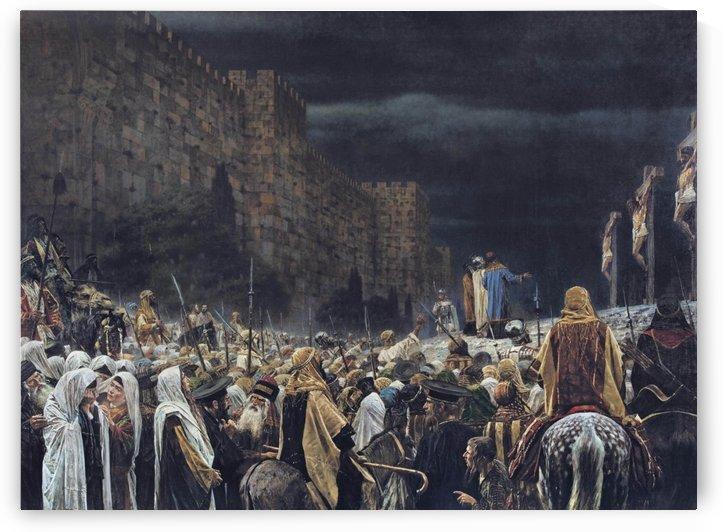 Crucifixion by the Romans by Vasily Vasilyevich Vereshchagin