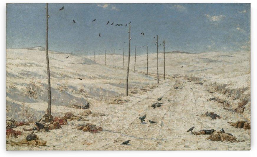 The Road of the war prisoners by Vasily Vasilyevich Vereshchagin