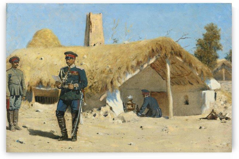 The Adjutant by Vasily Vasilyevich Vereshchagin