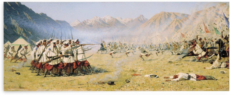 Unawares Attack 1871 by Vasily Vasilyevich Vereshchagin