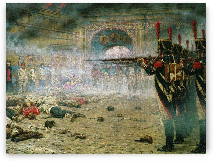 Execution of arsonists by Vasily Vasilyevich Vereshchagin