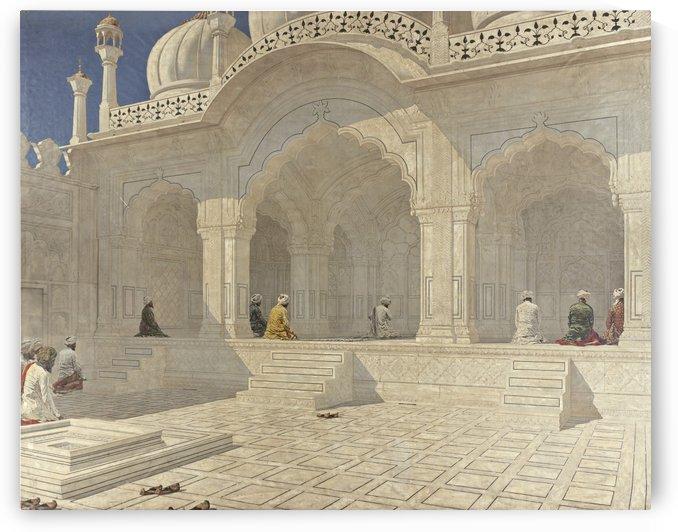 Pearl mosque at Delhi by Vasily Vasilyevich Vereshchagin