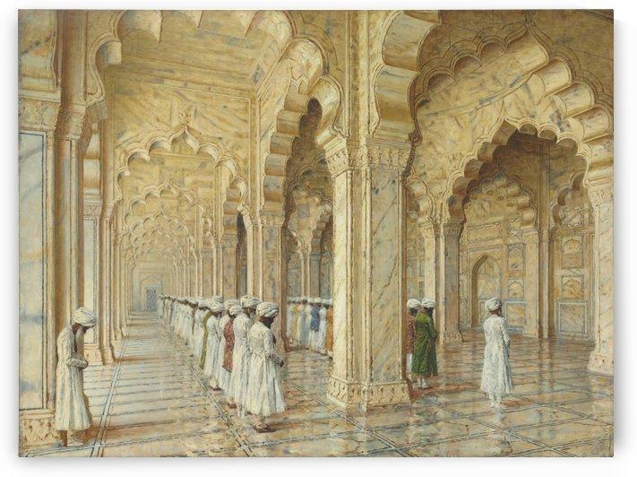The Pearl Mosque at Agra by Vasily Vasilyevich Vereshchagin