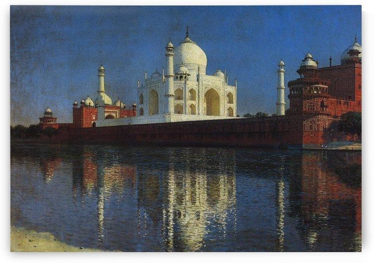 Taj Mahal Mausoleum, 1876 by Vasily Vasilyevich Vereshchagin