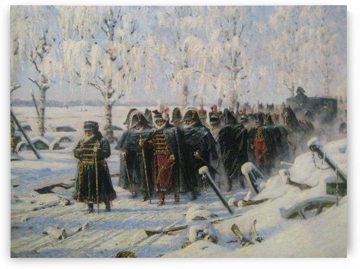 On the big road by Vasily Vasilyevich Vereshchagin