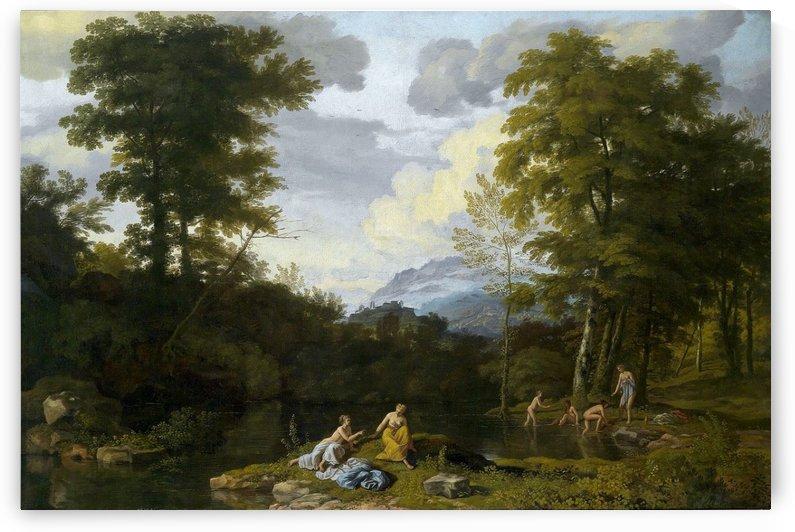 View of Lake Lucerne by Johann Joseph Jansen