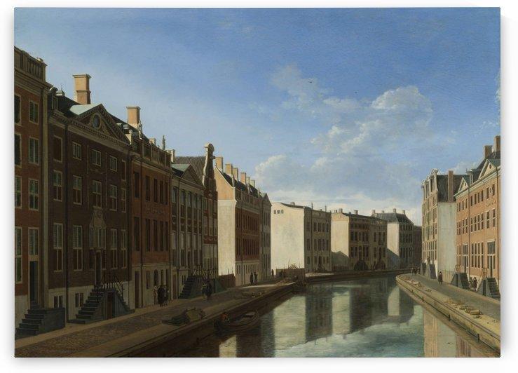 View of the Golden Bend in the Herengracht by Gerrit Adriaenszoon Berckheyde