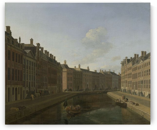View of the Golden Bend in the Herengracht from the east, 1685 by Gerrit Adriaenszoon Berckheyde
