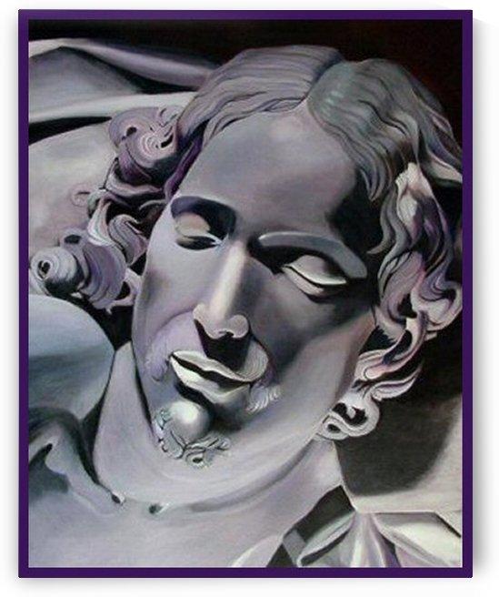 CHRIST from the Pieta by Bella Visat Artist