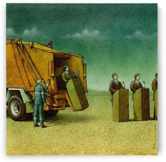Cleaning by Pawel Kuczynski
