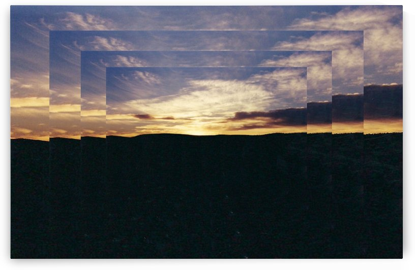 A  Manipulated Sunset by Arizona Photos by Jym