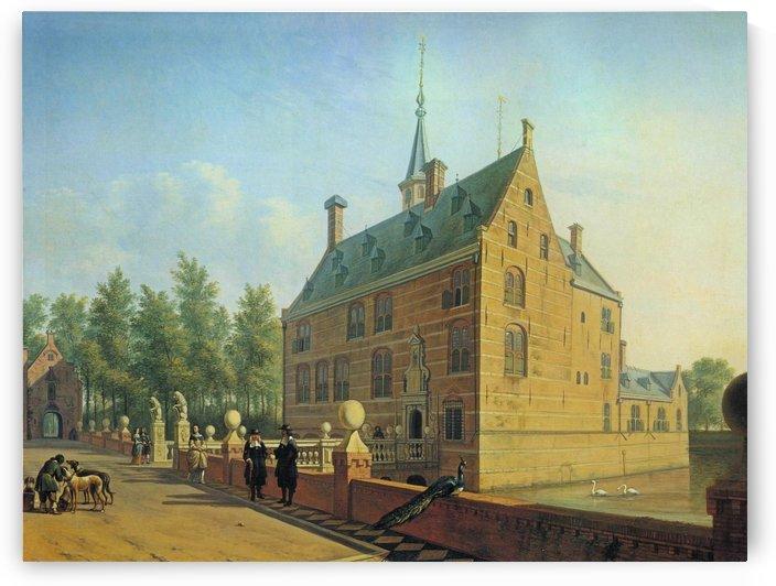 Huis te Heemstede by Gerrit Adriaenszoon Berckheyde