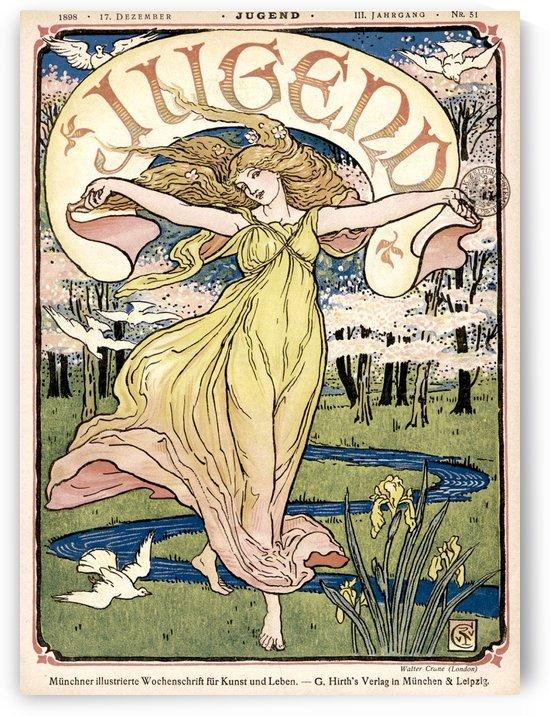 Jugend vintage poster 1898 by VINTAGE POSTER