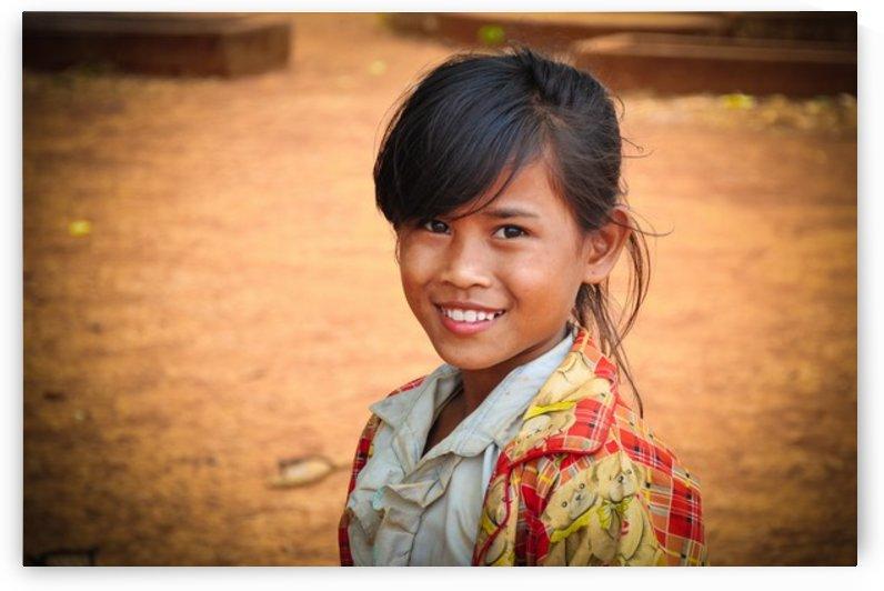Cambodian schoolgirl by Jure Brkinjac