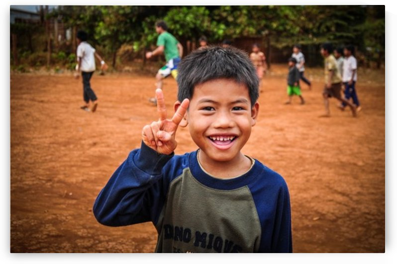 Cambodian schoolboy by Jure Brkinjac
