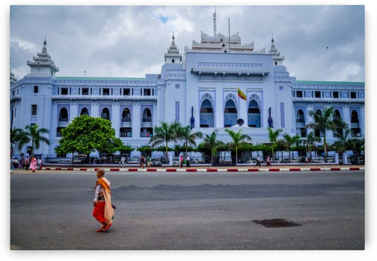 Yangon city hall by Jure Brkinjac