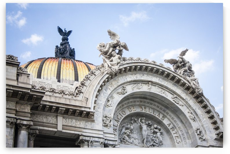 Bellas Artes by Carlos M  Garate
