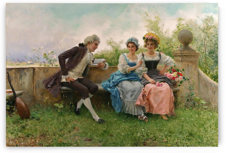 The poem by Federico Andreotti