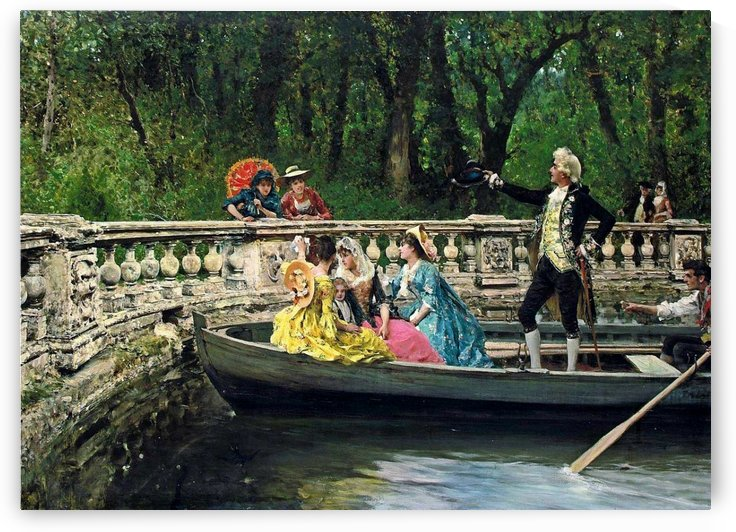 The Boating Party by Federico Andreotti