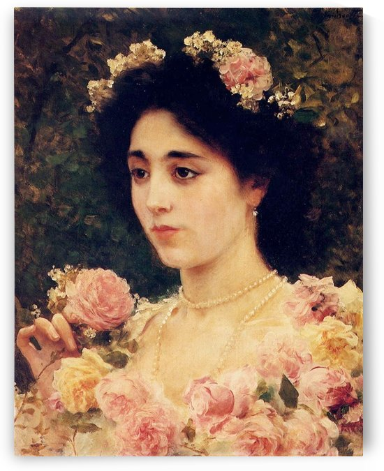 The Pink Rose by Federico Andreotti