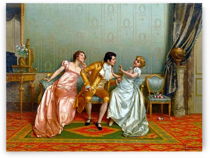 The Curiosity by Vittorio Reggianini