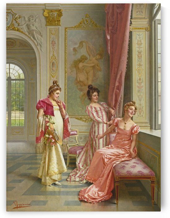 The coquette adventure by Vittorio Reggianini