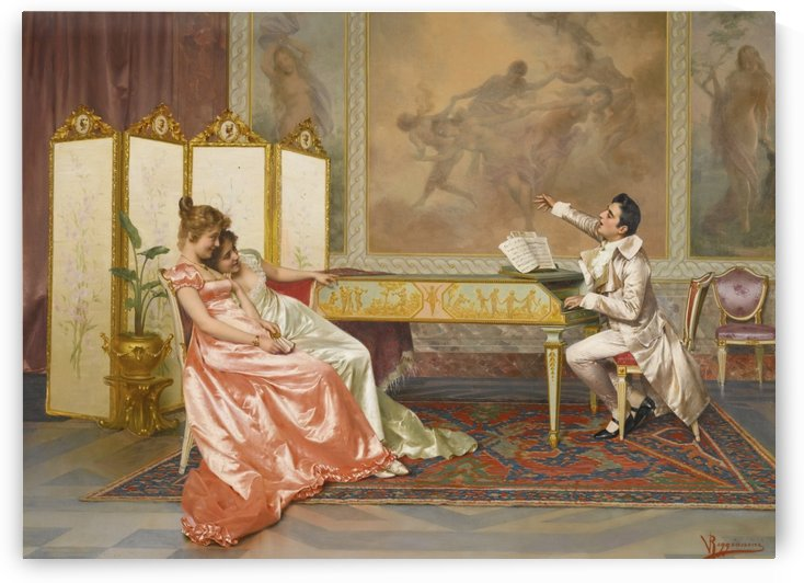 The solo recital by Vittorio Reggianini