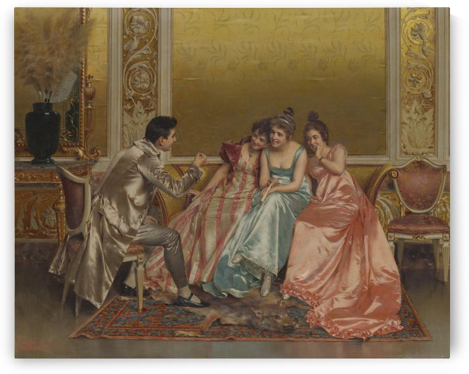 A captive audience by Vittorio Reggianini