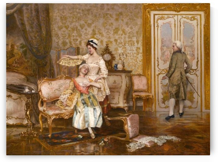 The faint by Vittorio Reggianini