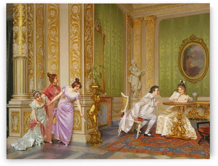 The unseen audience by Vittorio Reggianini
