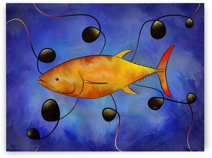 Tuorangossi V1 - orange tunafish by Cersatti Art