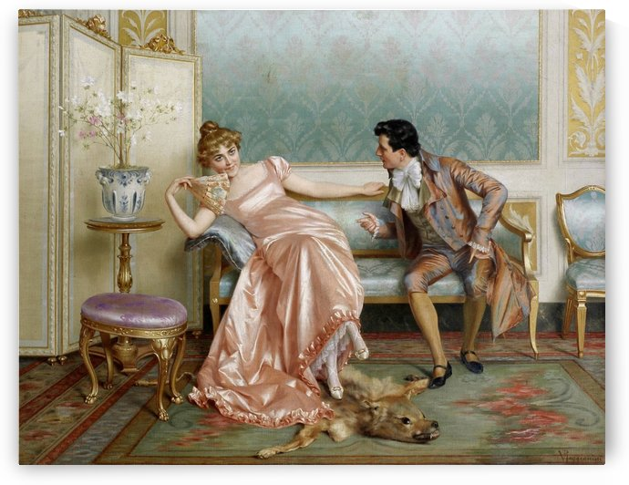 Tough flirt by Vittorio Reggianini