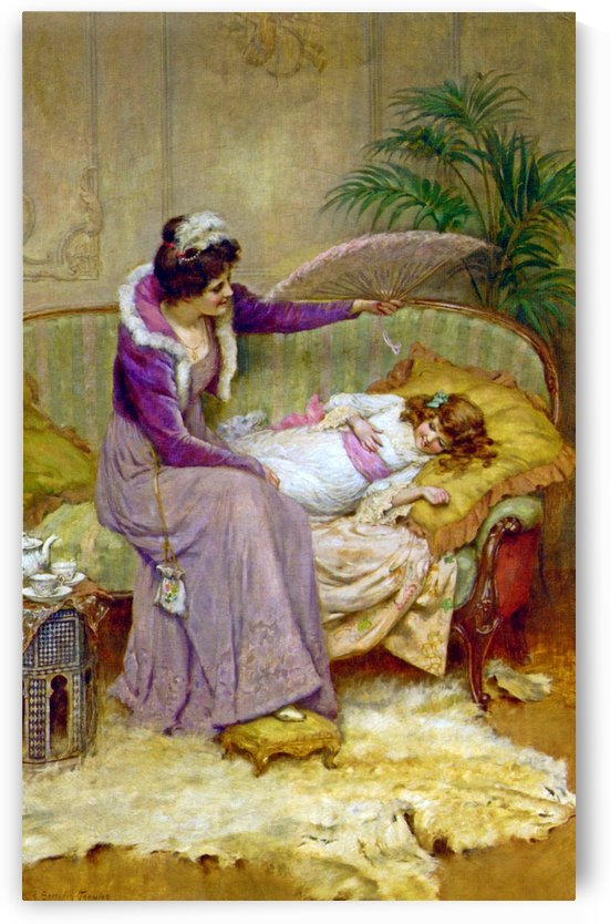 Mothers Comfort by George Sheridan Knowles