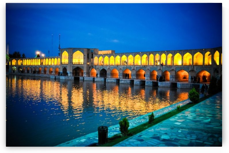 Esfahan bridge by Jure Brkinjac