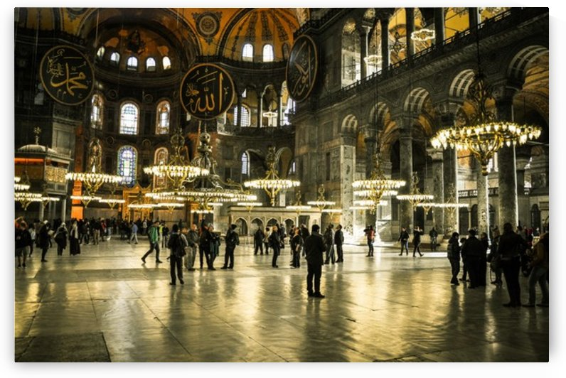 Hagia Sophia ground by Jure Brkinjac
