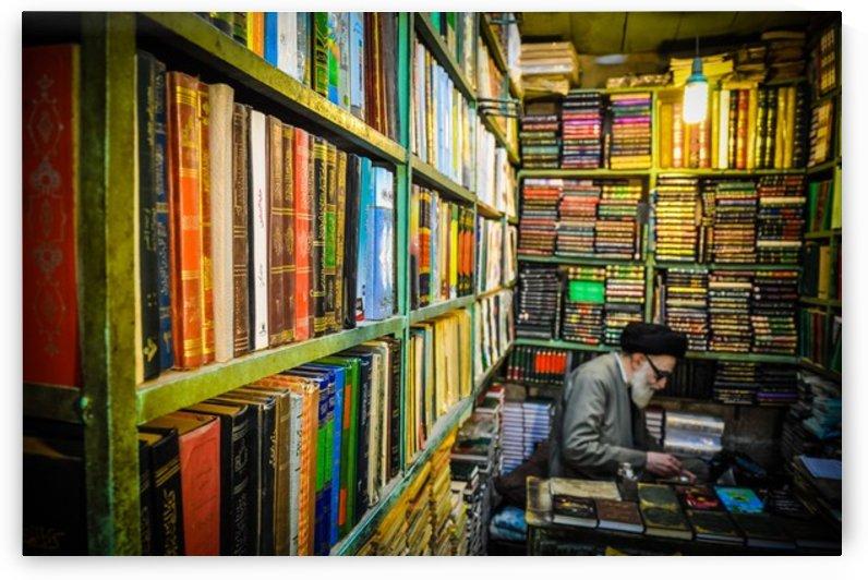 Tabriz bookshop by Jure Brkinjac
