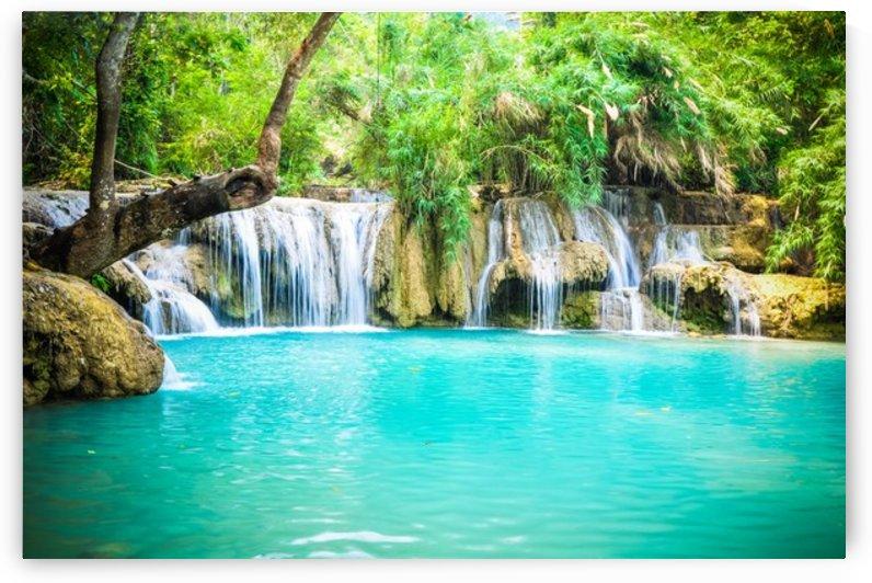Luang Prabang waterfalls by Jure Brkinjac