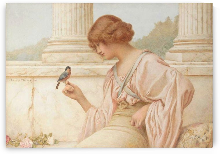 The return of the blue bird by Henry Ryland
