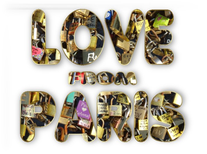 Paris City Of Love And Lovelocks by Georgeta Blanaru