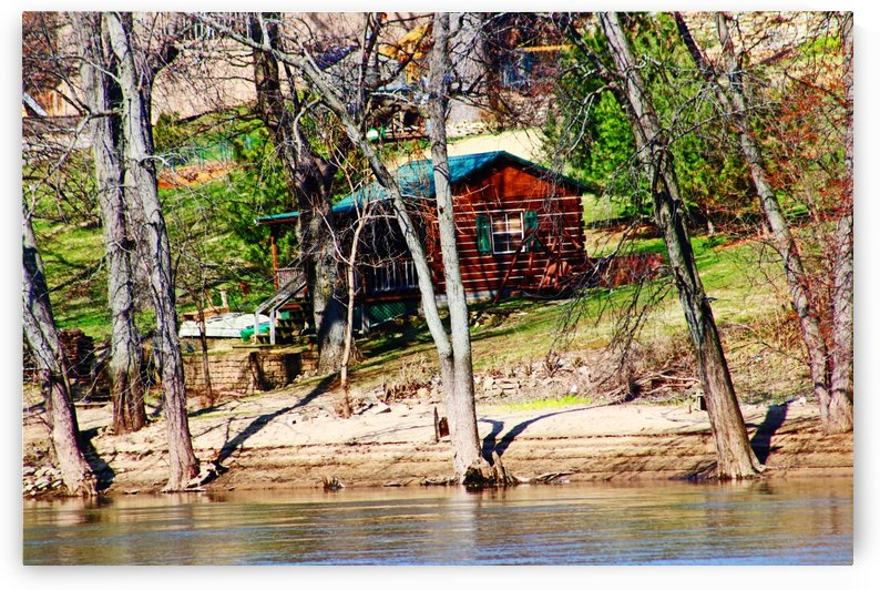 Little House on the River by Don  Baker