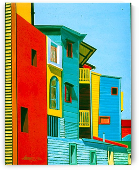 Laboca Streetscape #4 by Bella Visat Artist