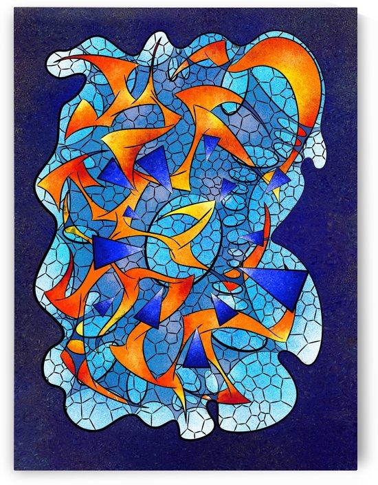 Leptoniussa V2 - digital abstract by Cersatti Art