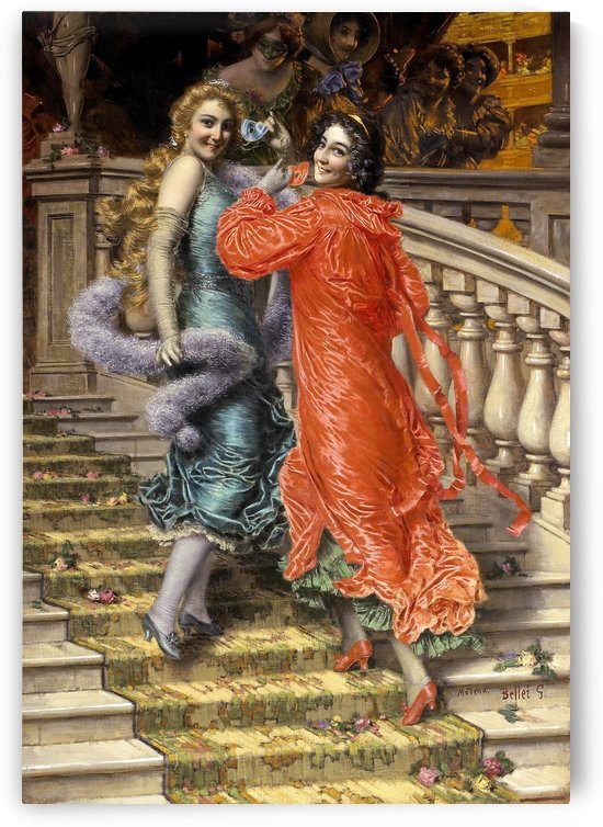 In the theatre by Gaetano Bellei