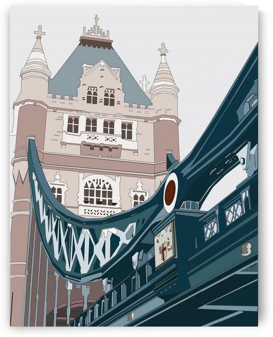 Tower Bridge, London by Miriam Allen