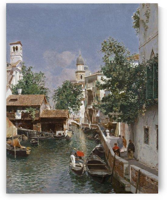 Canal de Veneza by Rubens Santoro